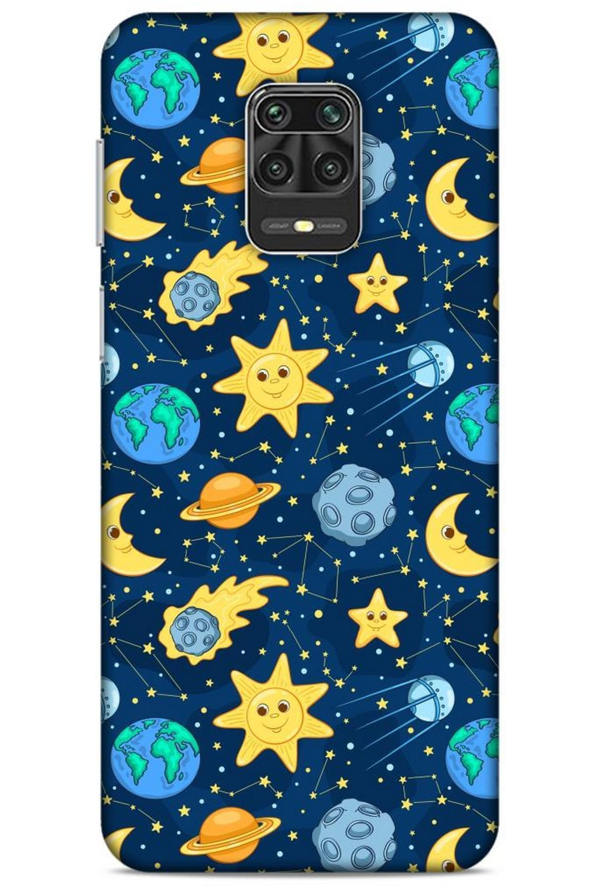 Lopard Spacex (6) Tema Silikon Kılıf Xiaomi Redmi Note 9s Kılıf 1