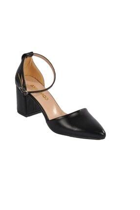 Maje Kadın Siyah Topuklu Ayakkabı