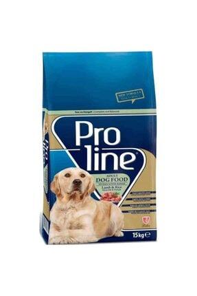 Pro Line Kuzu Etli Köpek Maması 15 kg