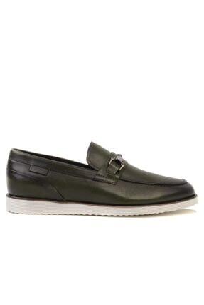 MARCOMEN Erkek Haki Loafer Ayakkabı