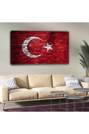 hanhomeart Türk Bayrağı Kanvas Tuval Tablo