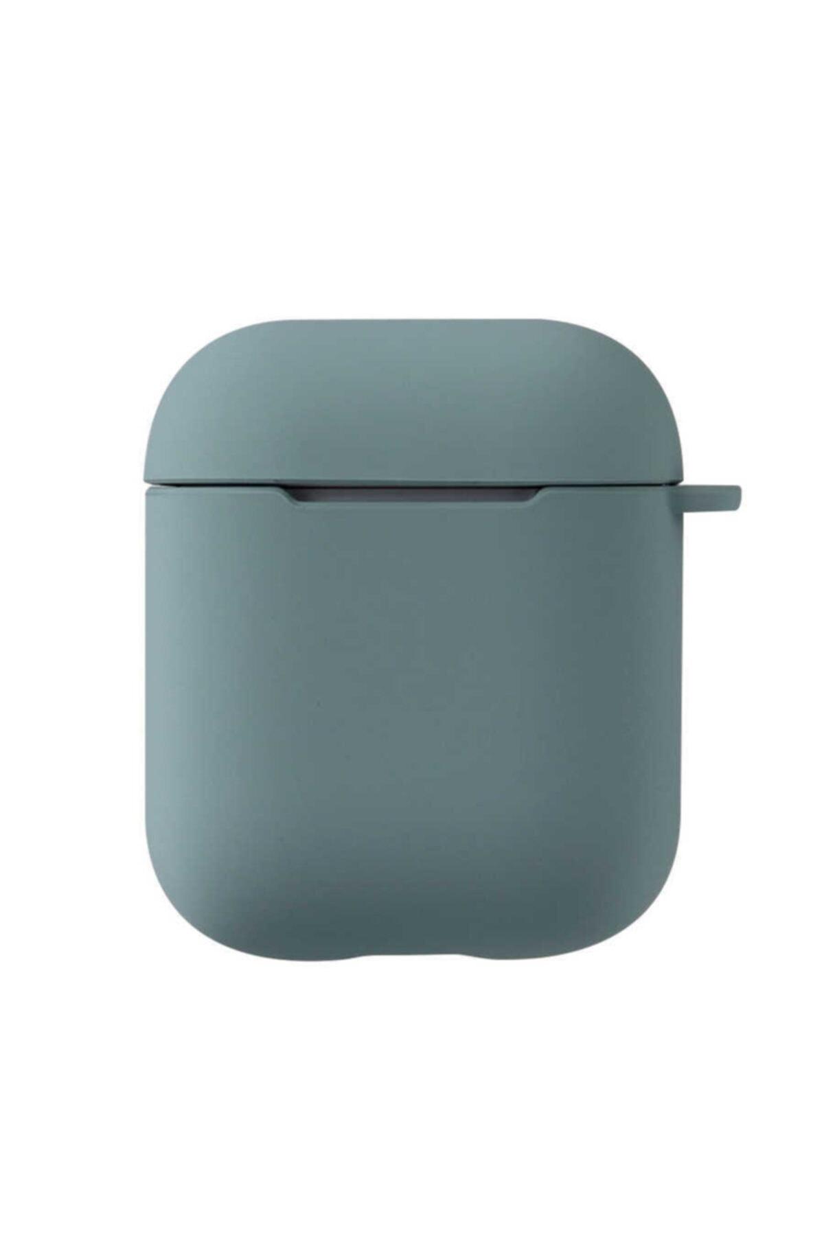 zore Airpods Uyumlu Kılıfı Tpu Wireless Şarj Destekli Soft Görünüm Mat Renkli Silikon Askılı Kılıf 1