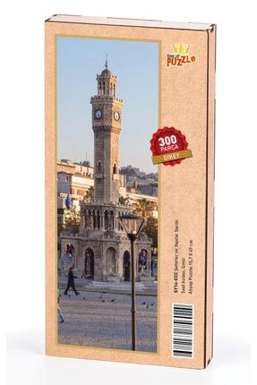 King Of Puzzle Saat Kulesi Izmir Ahşap Puzzle 300 Parça