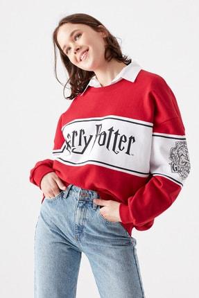 Mavi Kadın Harry Potter Lisanslı Kırmızı Sweatshirt 1600796-33203