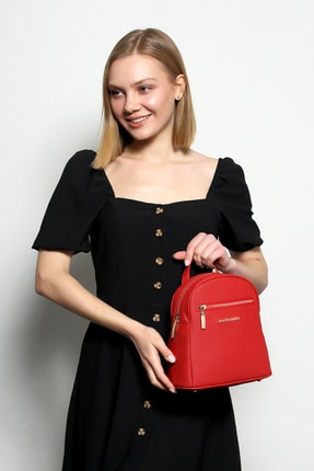 Marie Claire Kadın Bordo Sırt Çantası Asia Mc212102174
