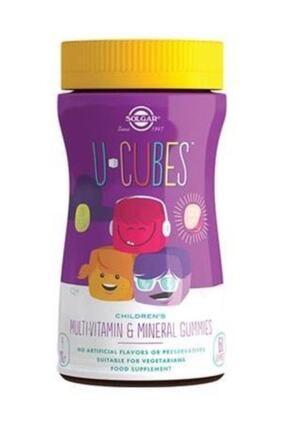 Solgar U-cubes Multi-vitamin 60 Gummy Çiğnenebilir Tablet