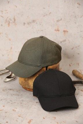 ÜN ŞAPKA Ikili Fırsat Ürünü - Haki Ve Siyah Şapka