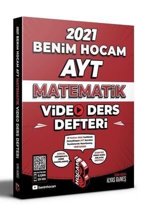 Benim Hocam Yayınları 2021 Ayt Matematik Video Ders Defteri