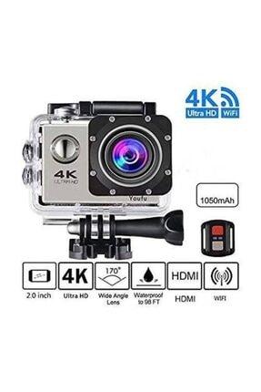 Kingboss Sport Action 4k Ultra Hd 2.0 Su Geçirmez Wifi Aksiyon Kamera