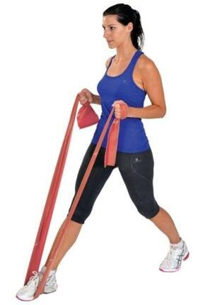Raicon 3'lü Pilates Bandı Plates Bantı Egzersiz Lastiği Yoga Egzersiz Bandı