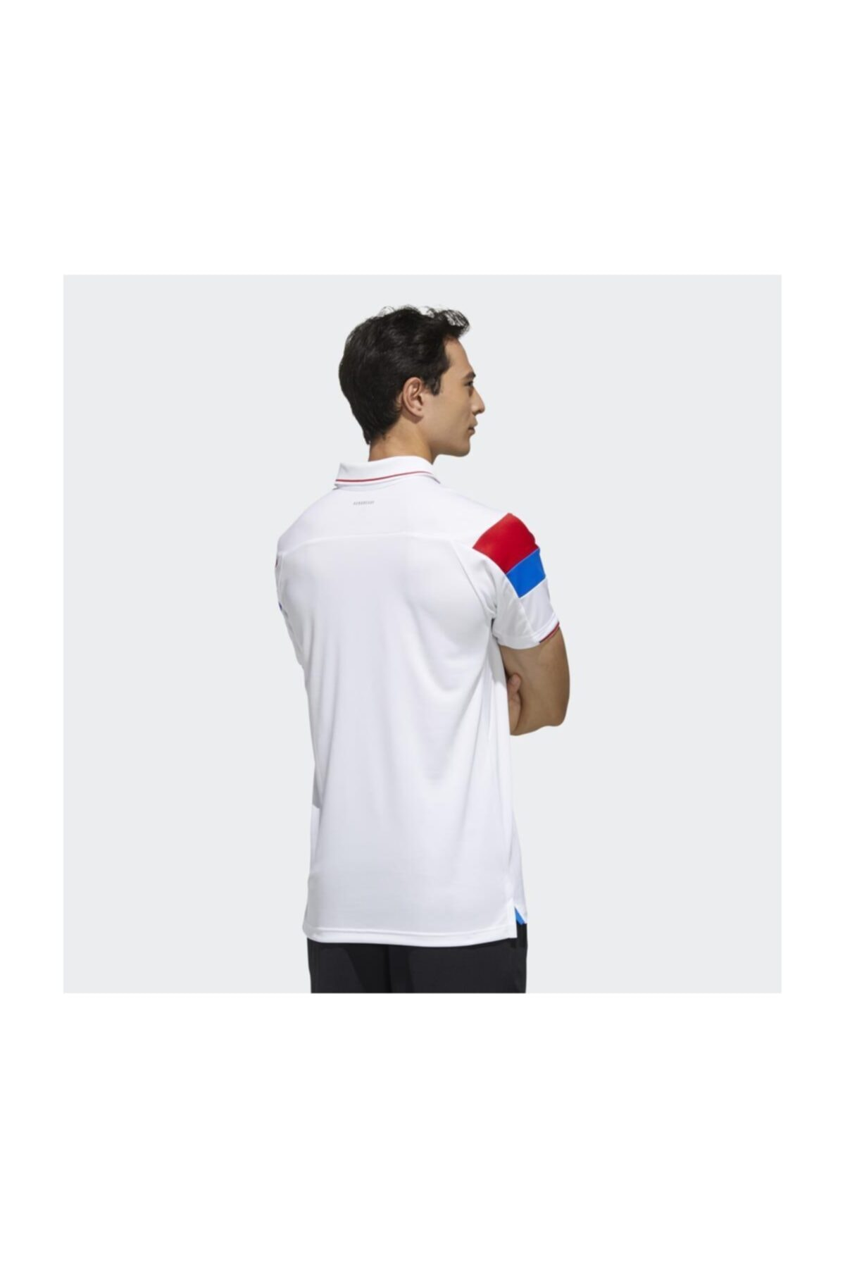 adidas Fk1406 Erkek Beyaz Polo T-Shirt 2