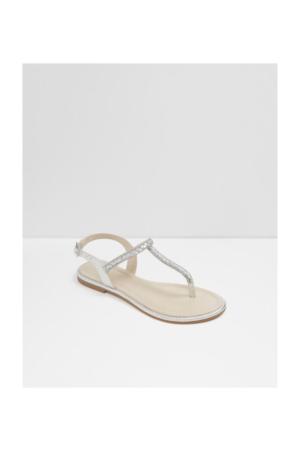 Aldo Kadın Gümüş Sandalet 58636 2
