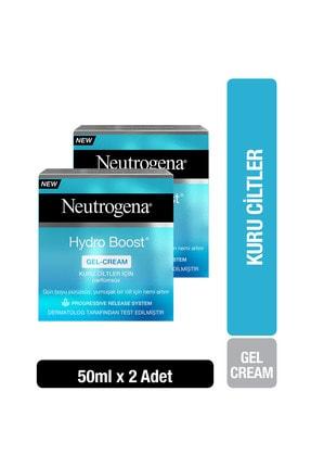 Neutrogena Hydro Boost Gel Cream Nemlendirici Kuru Ciltler için 50 ml x2