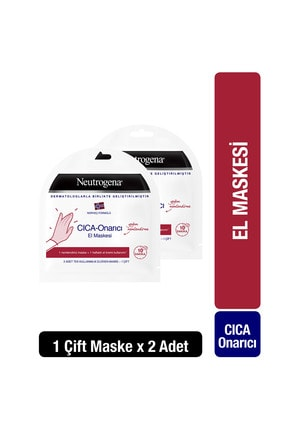 Neutrogena Norveç Formülü CICA-Onarıcı El Maskesi x2