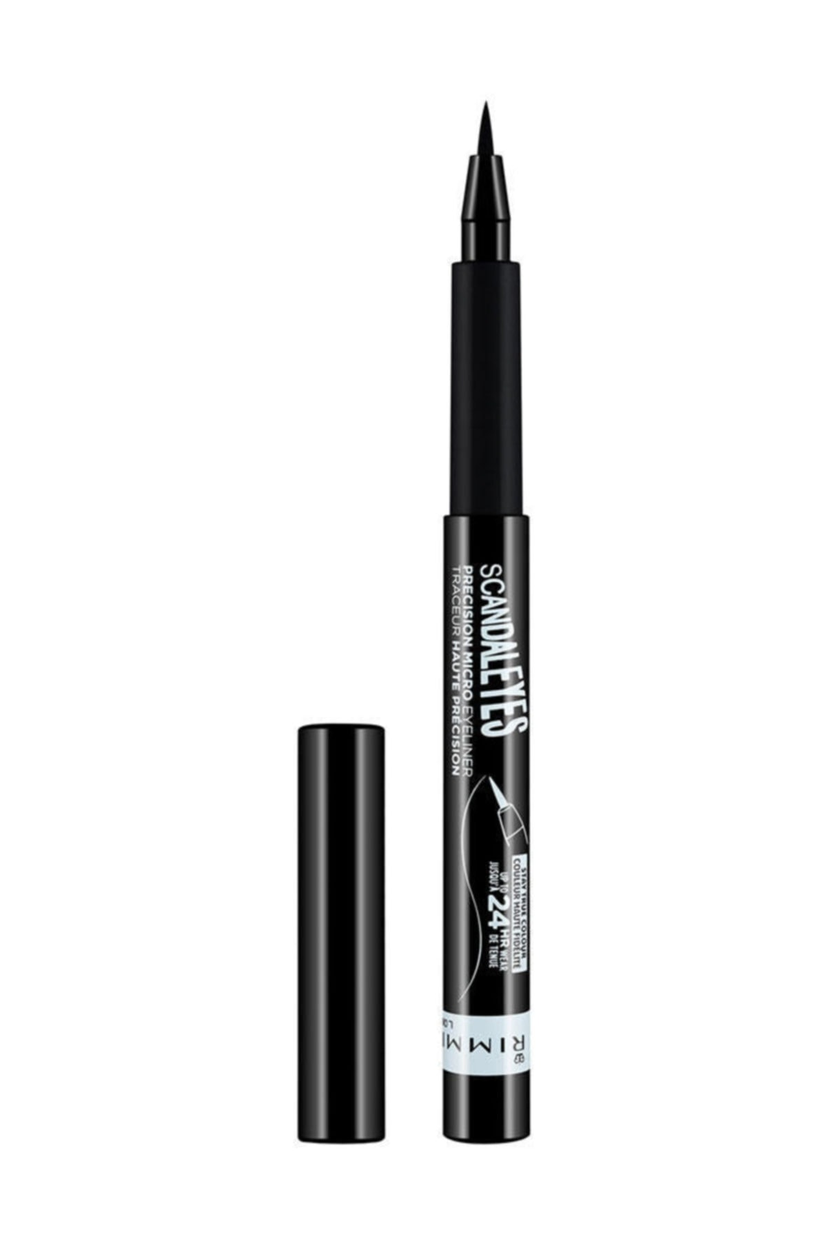 RIMMEL LONDON Siyah Eyeliner - Scandal'Eyes Precision Micro Eyeliner Black 3614222758778 1