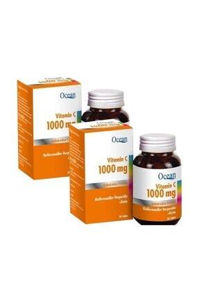 Ocean Vitamin C 1000 Mg 30 Tablet X 2 Adet