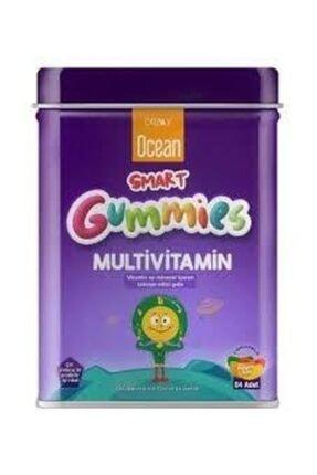 Ocean Smart Gummies Multivitamin Meyve Sulu 64 Adet Jel Çocuklara Özel