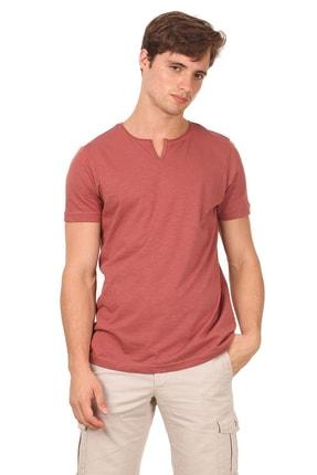 Ramsey Bakır Düz Örme T - Shirt RP10113893