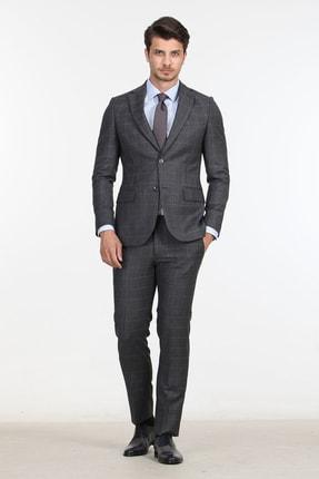 Kip Lacivert Dokuma Takım Elbise KP10107012