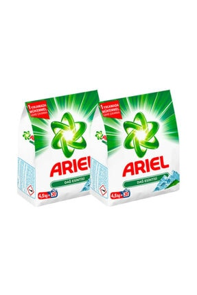 Ariel Toz Çamaşır Deterjanı Dağ Esintisi 4,5 Kg + Dağ Esintisi 4,5 Kg