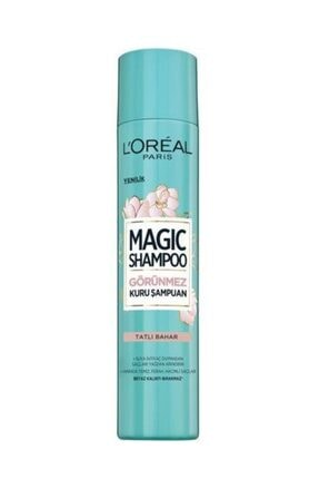 L'Oreal Paris Görünmez Kuru Şampuan - Magic Shampoo 200 ml Tatlı Bahar 3600523606566