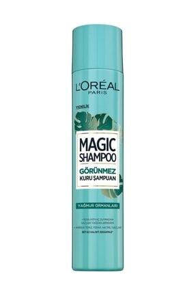 L'Oreal Paris Görünmez Kuru Şampuan - Magic Shampoo 200 ml Yağmur Ormanları 3600523606627