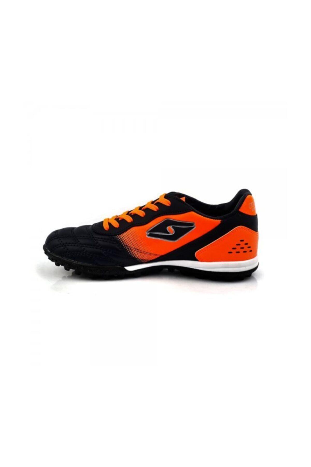WoW Ayakkabı Lacivert Turuncu Halısaha Ayakkabı 2