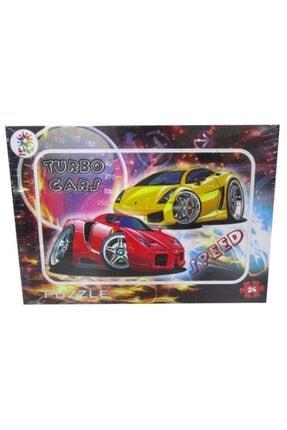Nubutik's Erkek Çocuk Modifiyeli Arabalar Puzzle 24 Parça