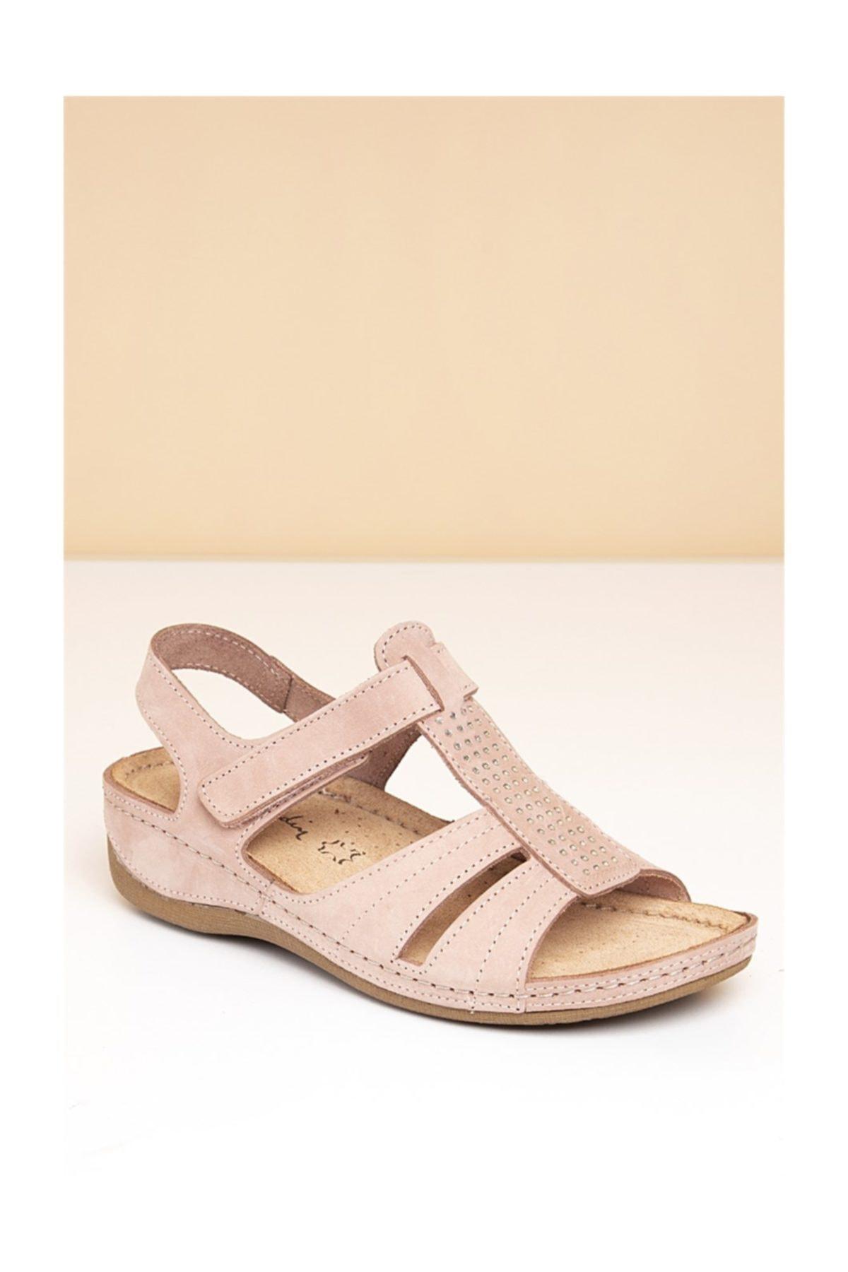Pierre Cardin Pc-2607 Pudra Kadın Sandalet 1