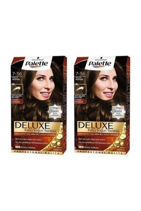 Palette Deluxe 7-36 Yoğun Küllü Kestane X 2 Adet