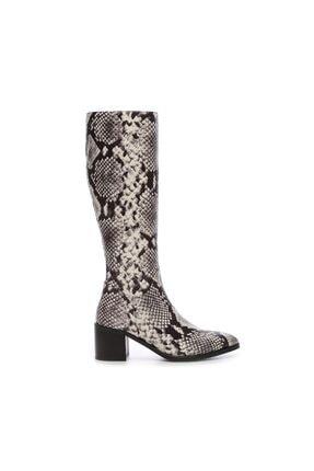 KEMAL TANCA Kadın Derı Çizme Çizme 51 350C BN CZM SK20
