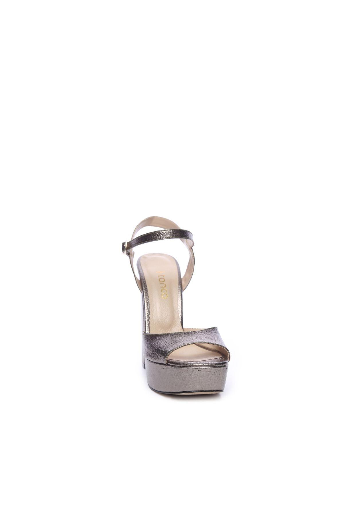 KEMAL TANCA Kadın Derı Topuklu Ayakkabı 539 3104 BN AYK 2