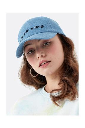 Mavi Kadın FRIENDS Baskılı Şapka 197206-29846