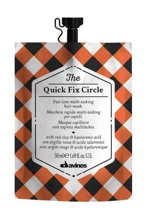 Davines The Quick Fix Circle Hızlı Etkili Saç Bakım Maskesi 50 ml 18004608258213