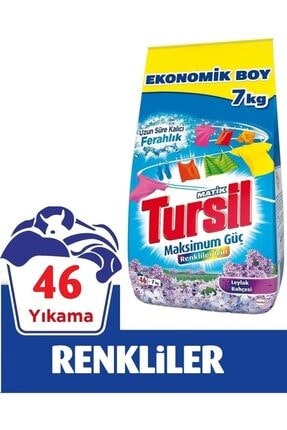 Tursil Leylak Color Toz Çamaşır Deterjanı 7 kg