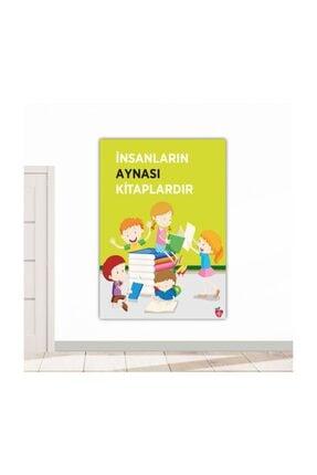 Okulposteri Kitaplar Ve Çocuklar Okul Duvar Afişi 70x100cm Forex-görsel Tablo