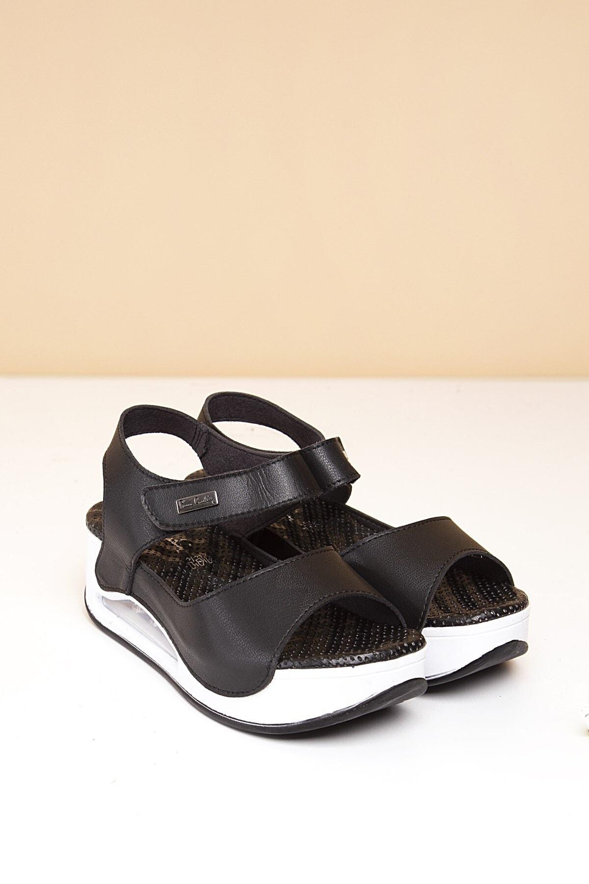 Pierre Cardin Pc-1406 Siyah Kadın Sandalet 1