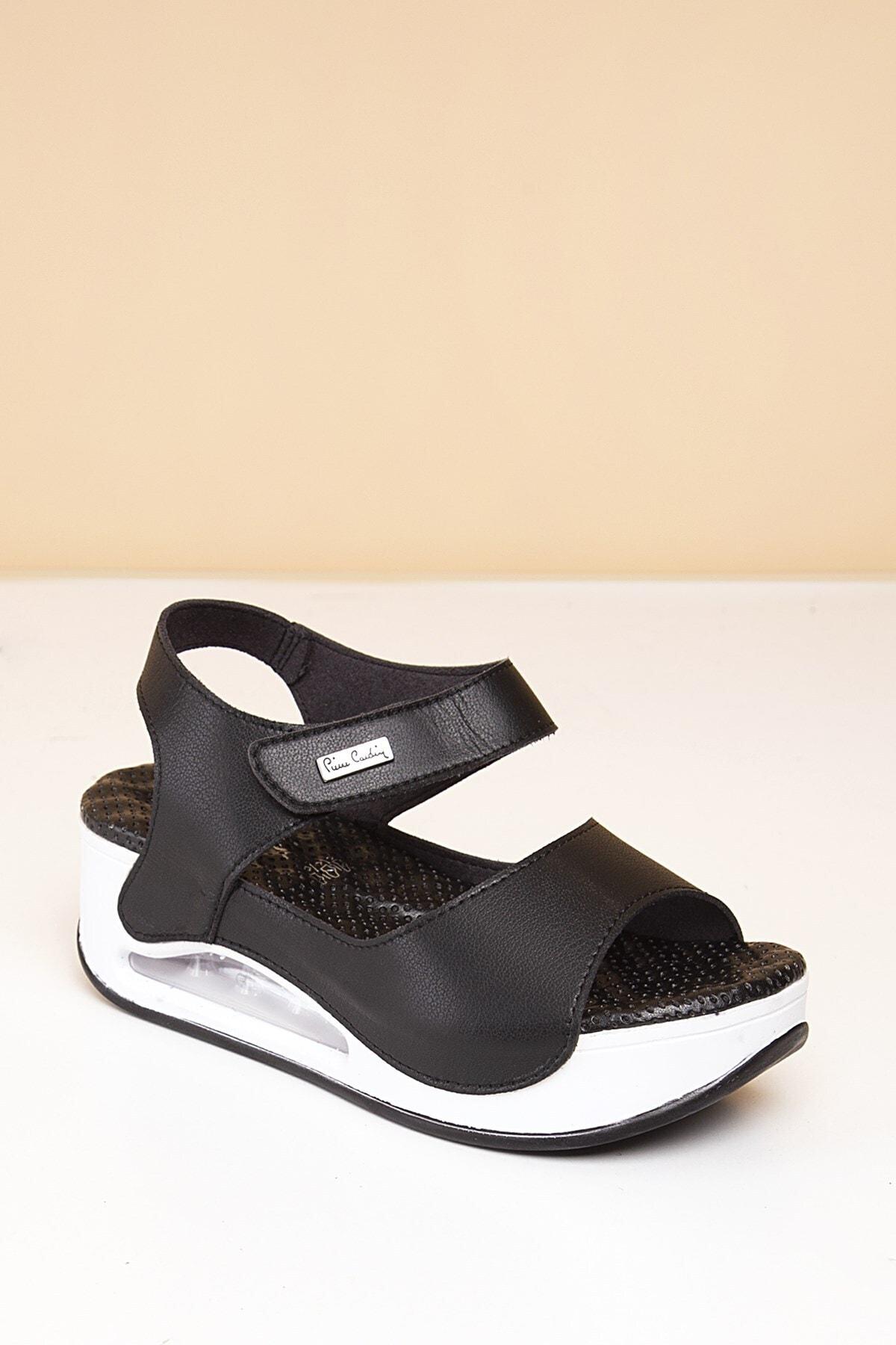 Pierre Cardin Pc-1406 Siyah Kadın Sandalet 2