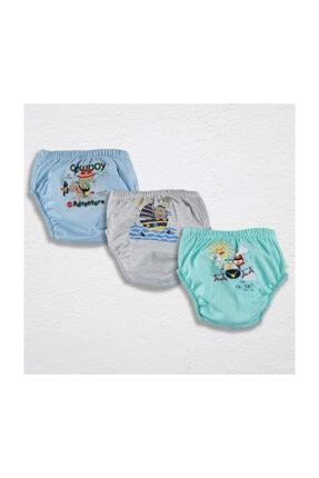 Story Baby Storybaby - 3lü Erkek Alıştırma Külodu - Ayılı Set