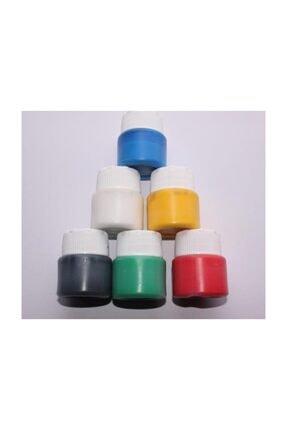 Joy and Toys Ebru Boyası 6 Renk - 6x25ml Ebru Boyası Seti