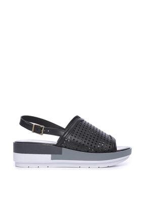 KEMAL TANCA Siyah Kadın Sandalet Sandalet 674 413406 BN SNDLT