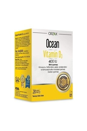 Ocean Vitamin D3 400 Iu Oral Sprey 20 ml