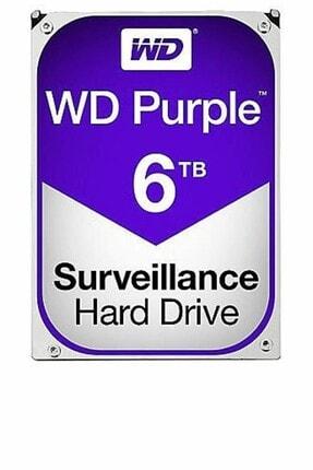 WD Purple 3.5 6TB 64Mb Sata 3 6Gb/s 7/24 WD60PURZ