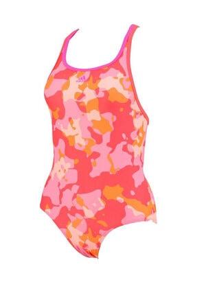 adidas Kız Çocuk Yüzme Mayo - By Aop Suit - BP5306