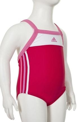 adidas Kız Çocuk Z29633 Aw 3Sa Inf 1Pc Yüzücü Mayo