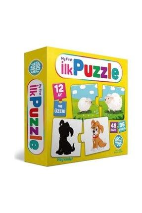 DIY Toys Ilk Puzzle Hayvanlar
