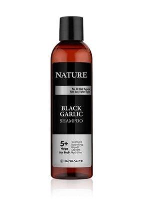 Huncalife Nature Saç Dökülmelerine Karşı Siyah Sarımsaklı Şampuan 350 ml