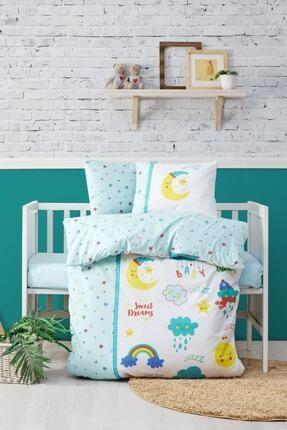 Cotton Box Tatlı Rüyalar Mint Bebek Nevresim Takımı