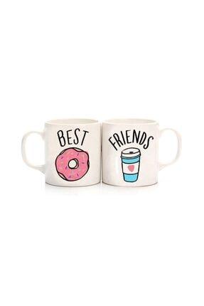 Köstebek Donut & Kahve Best Friends Kupa
