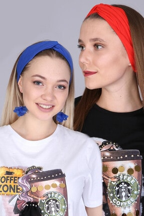 Mi&So Düz Renk Ikili Saç Bandı